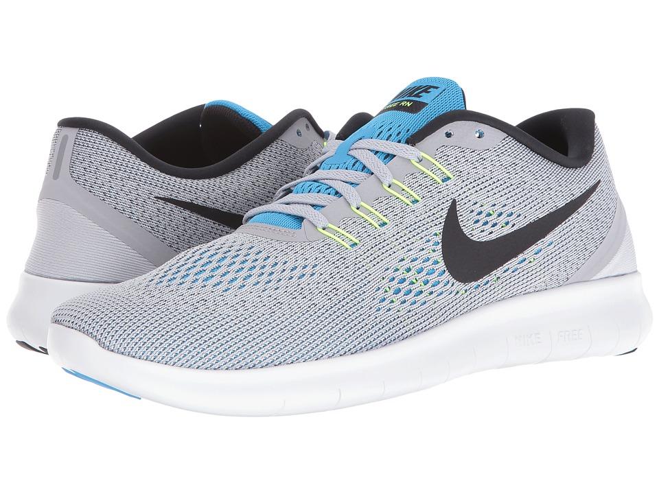 Nike Free RN (Wolf Grey/Blue Glow/Volt/Black) Men