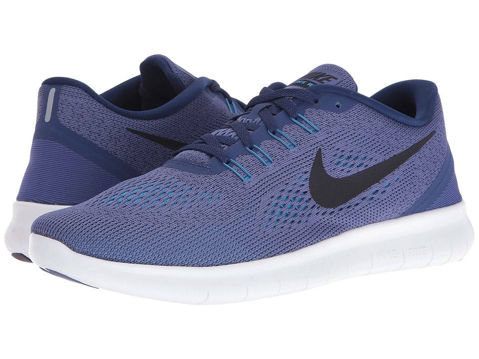 Nike Free RN (Dark Purple Dust/Loyal Blue/Blue Glow/Black) Men