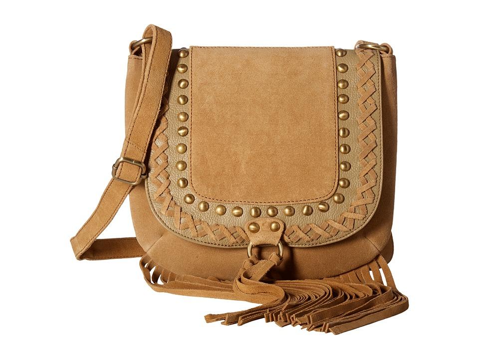 Scully - Caterina Fringe Handbag (Tan) Handbags