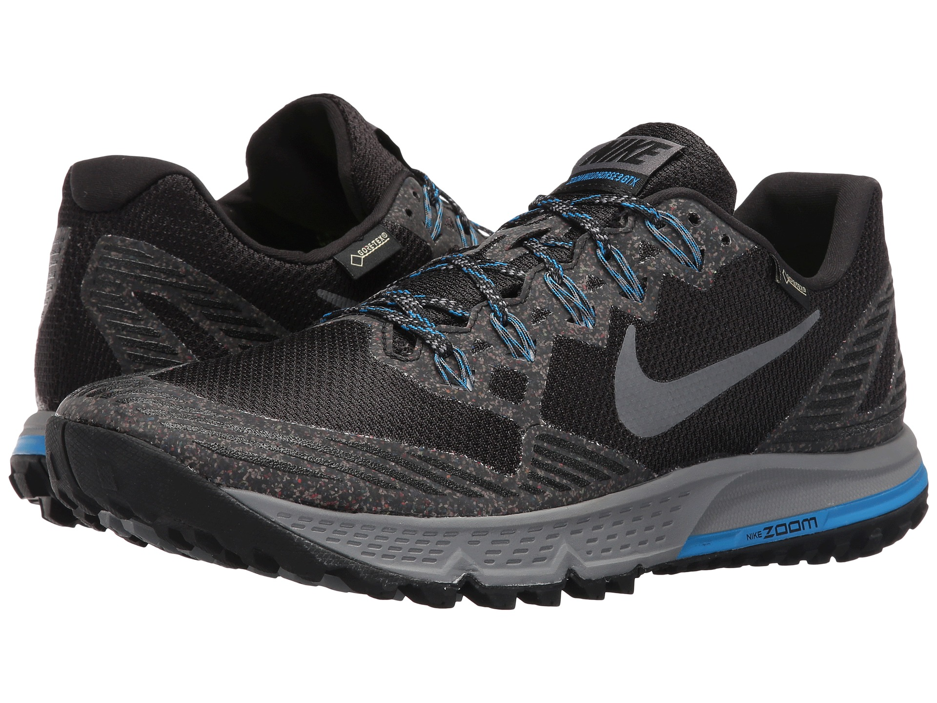 Nike Air Zoom Wildhorse 3 GTX Black/Dark Grey/Photo Blue ...