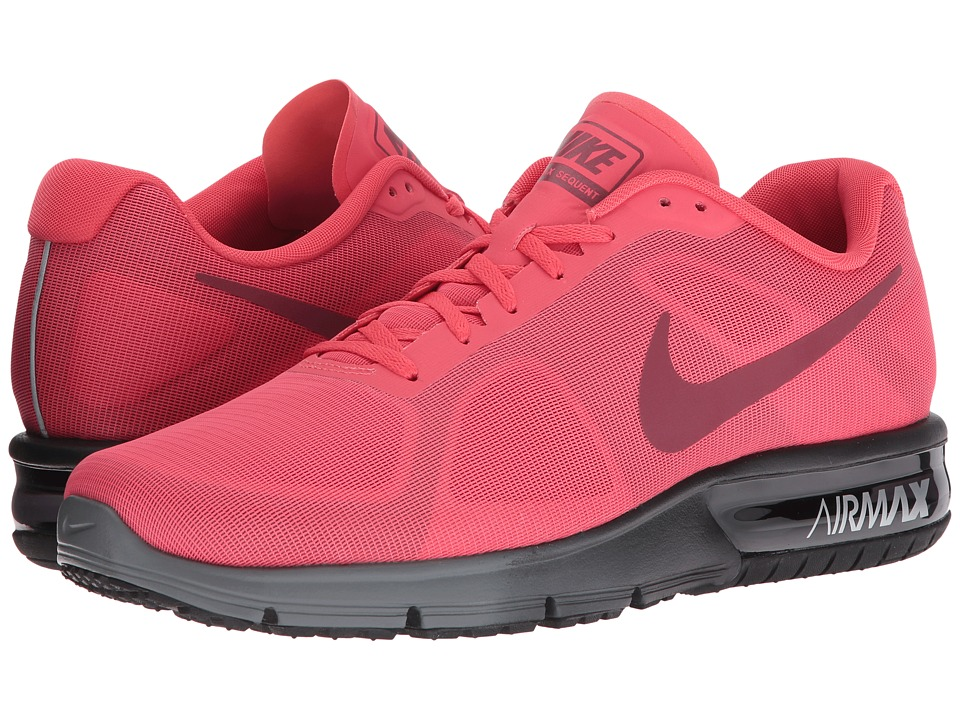 Nike Air Max Sequent (Ember Glow/Team Red/Black/Charcoal Grey) Men