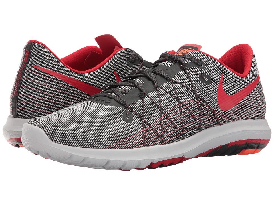 Nike Flex Fury 2 (Anthracite/University Red/Pure Platinum) Men