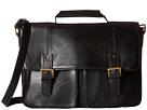 Scully Hidesign Dale Computer Brief Bag (Black)