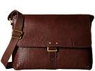 Scully Hidesign Machelle Lightweight Work Brief Bag (Brown)
