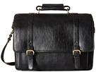 Scully Hidesign Adrian Computer Brief Bag (Black)