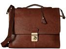 Scully Hidesign Fabian Brief Bag (Brown)