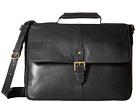 Scully Hidesign Daniel Work Bag (Black)