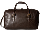 Scully Hidesign Ami Leather Travel Bag (Brown)