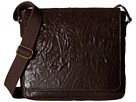 Scully Hidesign Ade Messenger Bag (Brown)