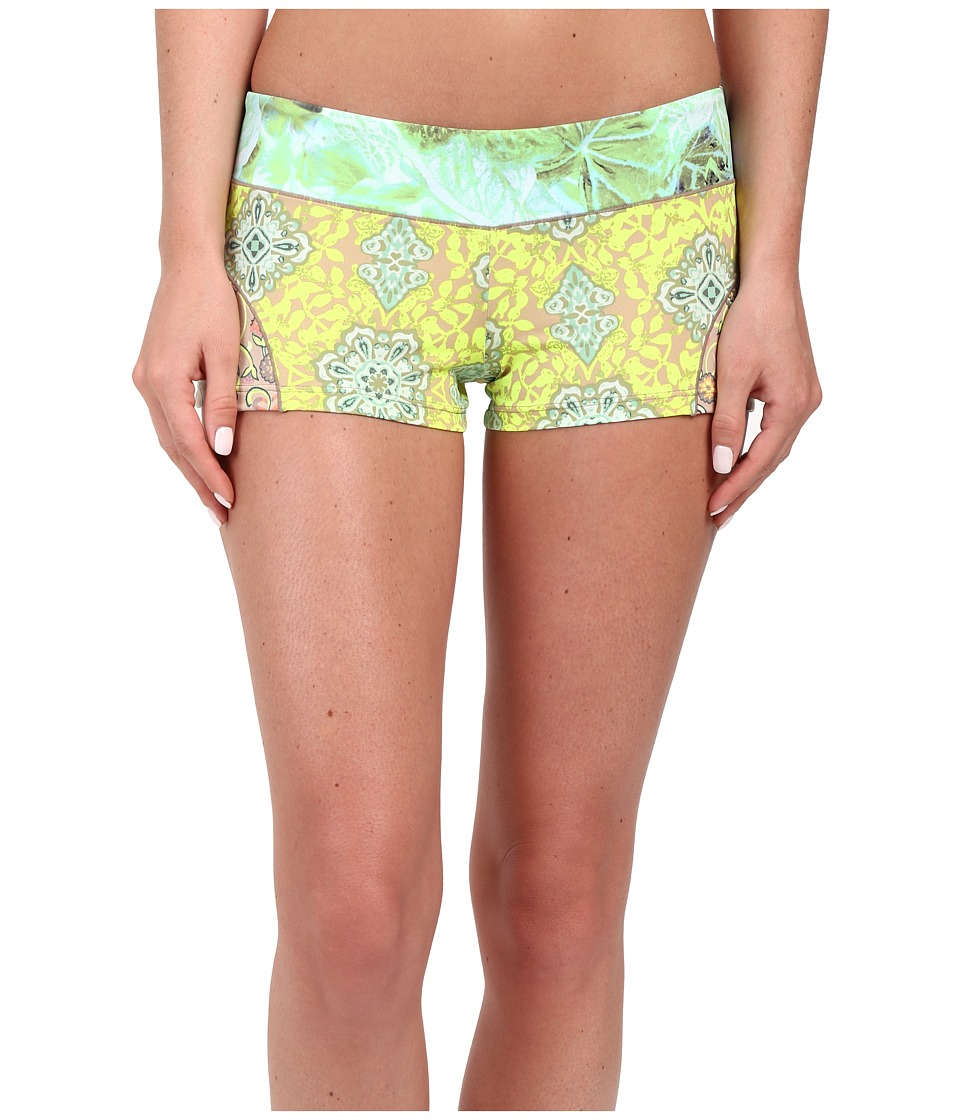 Maaji Patches of Green Cover Up Shorts Multicolor Womens Swimwear