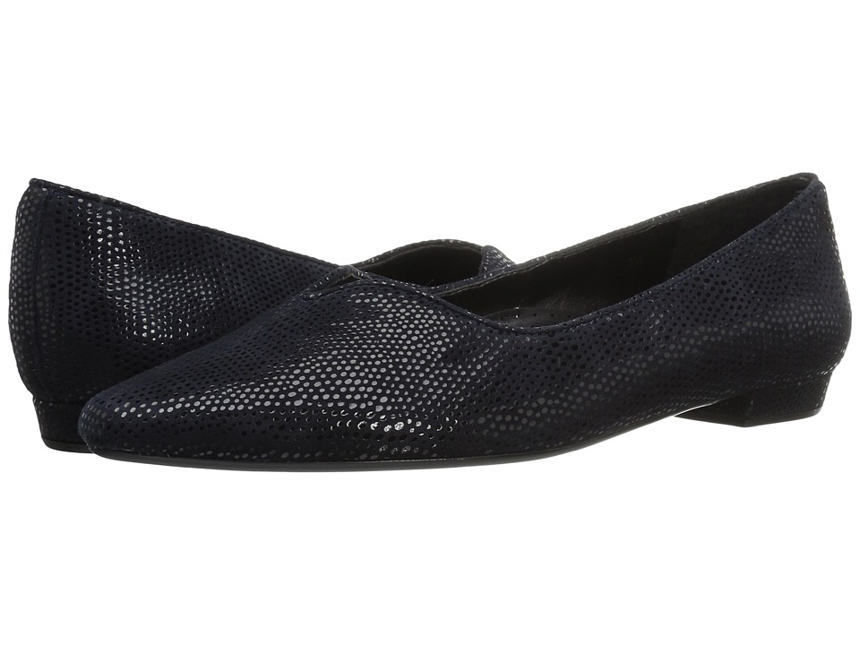 Vaneli Ganet (Navy Elastic Print) Women's Shoes
