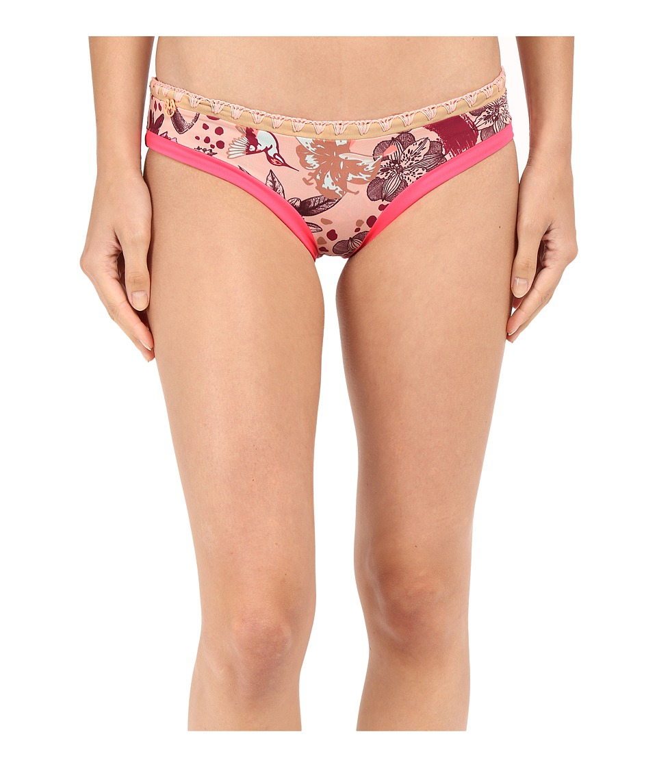 Maaji Art 4 Life Signature Cut Bottoms Multicolor Womens Swimwear