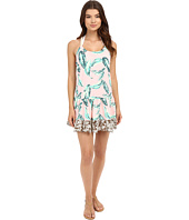 Maaji - Leafy Watercolor Cover-Up Short Dress