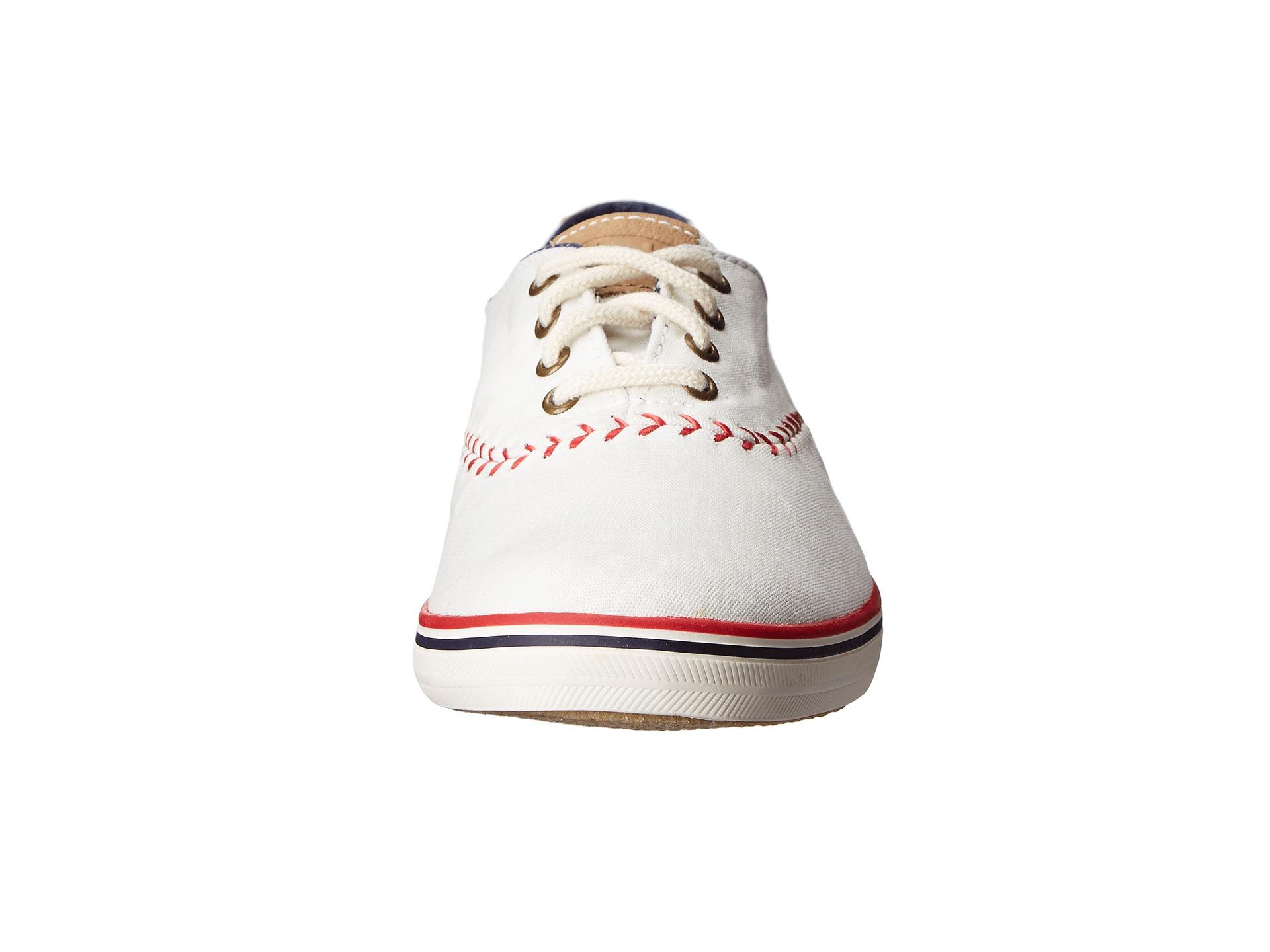 Keds Baseball Stitch Shoes Wide