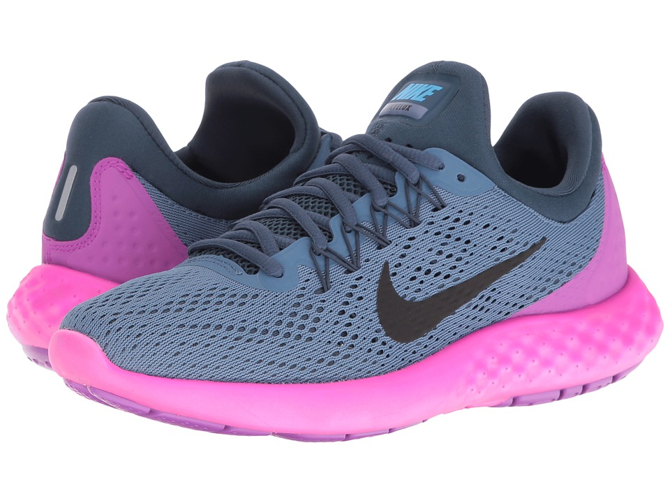 Nike - Lunar Skyelux (Ocean Fog/Squadron Blue/Hyper Violet/Black) Womens Shoes