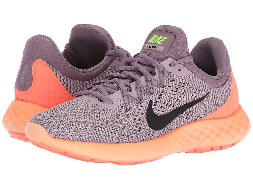 Nike - Lunar Skyelux (Plum Fog/Purple Shade/Bright Mango/Black) Womens Shoes