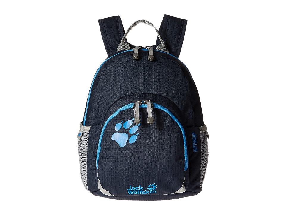 Jack Wolfskin - Buttercup (Kids) (Night Blue) Backpack Bags