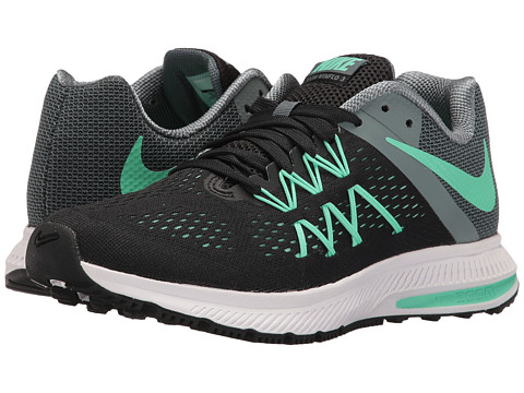 Nike Zoom Winflo 3 - Black/Hasta/White/Green Glow