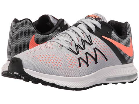 Nike Zoom Winflo 3 - Wolf Grey/Black/White/Bright Mango