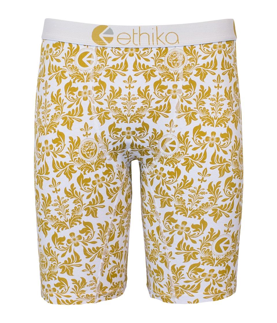 ethika The Staple Royalty Boxer Brief Gold Mens Underwear