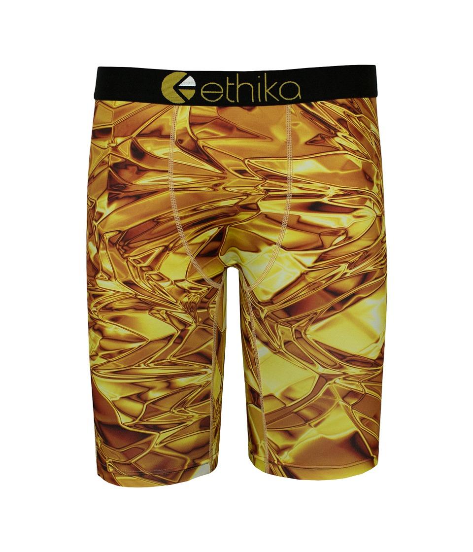 ethika The Staple Ticket Boxer Brief Gold Mens Underwear