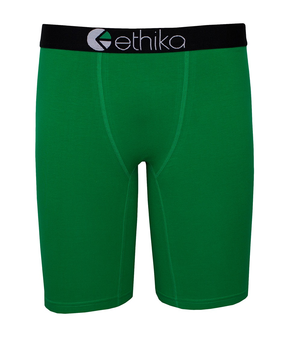 ethika The Staple Fighting Boxer Brief Green Mens Underwear