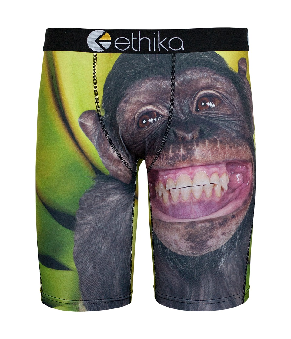 ethika The Staple Monkey Business Boxer Brief Black Mens Underwear