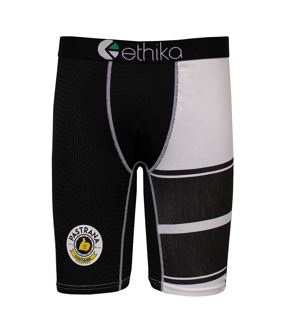 ethika The Staple Pastrana Vintage Lackey Boxer Brief Green/Black Mens Underwear
