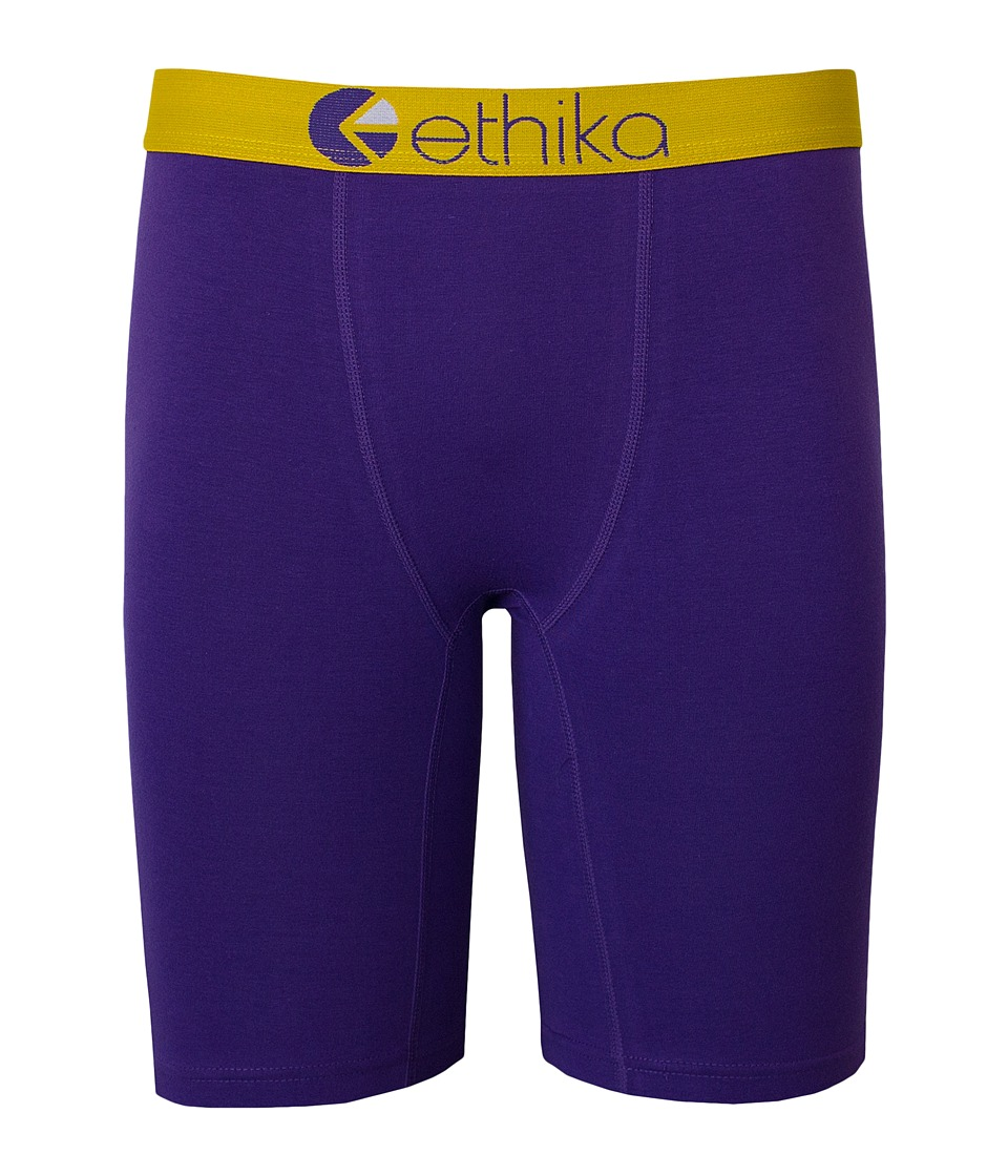 ethika The Staple Lakeshow Boxer Brief Purple Mens Underwear