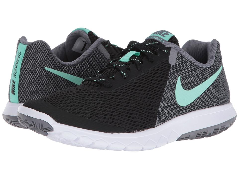Nike Flex Experience RN 5 (Black/Green Glow/Cool Grey/White) Women