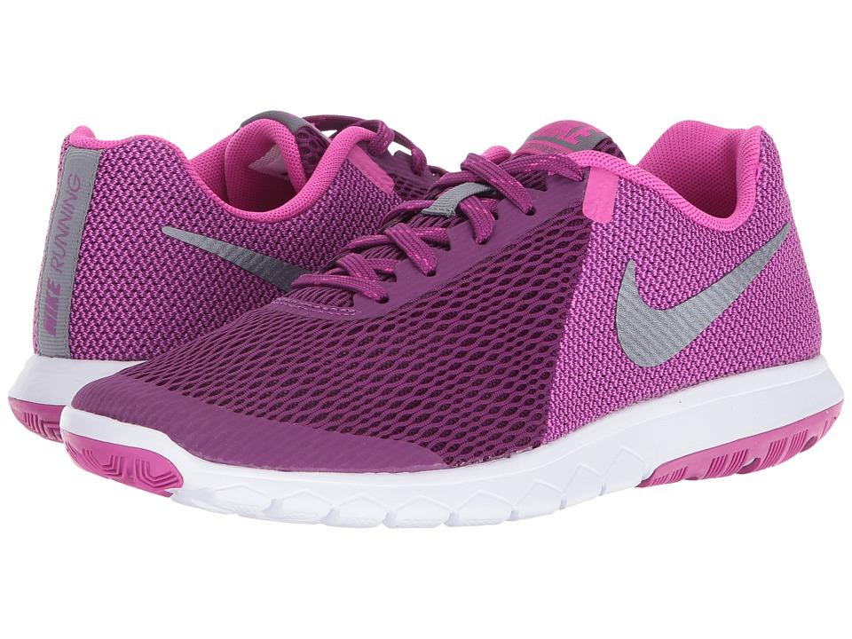 Nike Flex Experience RN 5 (Bright Grape/Metallic Cool Grey/Fire Pink/White) Women