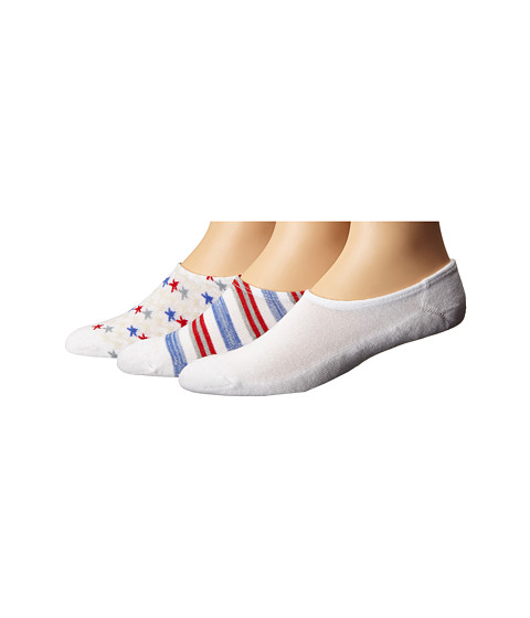 Converse 3-Pack Made for Chucks Americana - White Multi