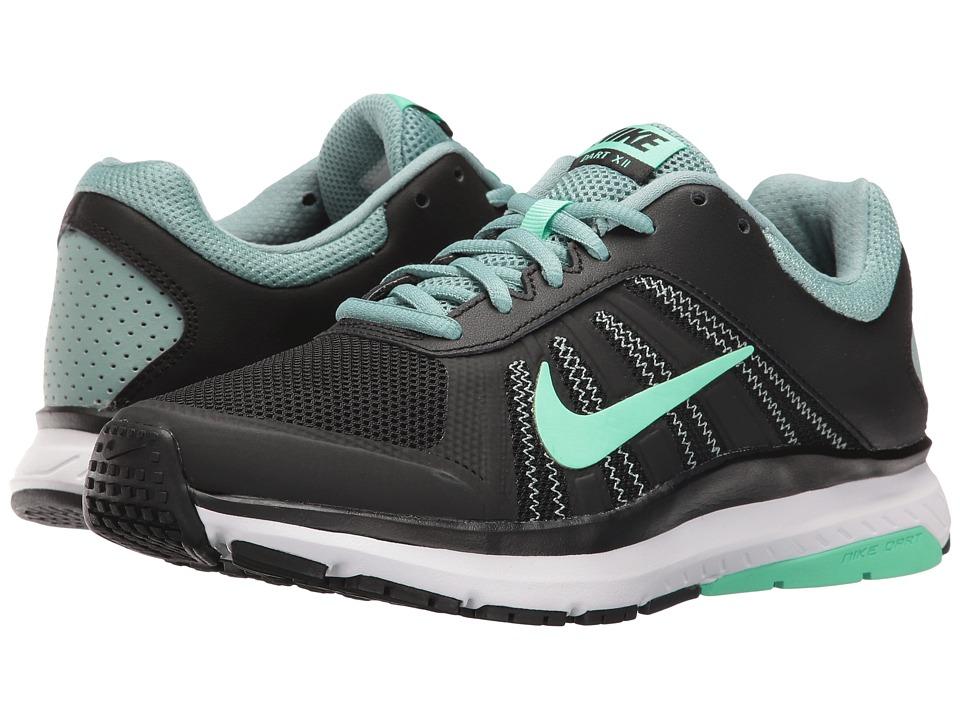 Nike Dart 12 (Black/Green Glow/Cannon/White) Women