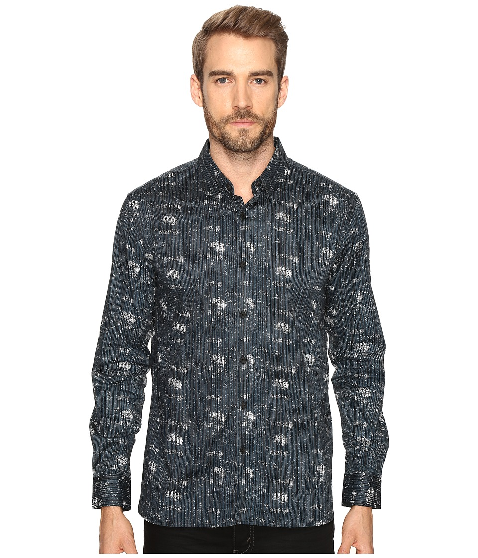 7 Diamonds - Etched Out Long Sleeve Shirt