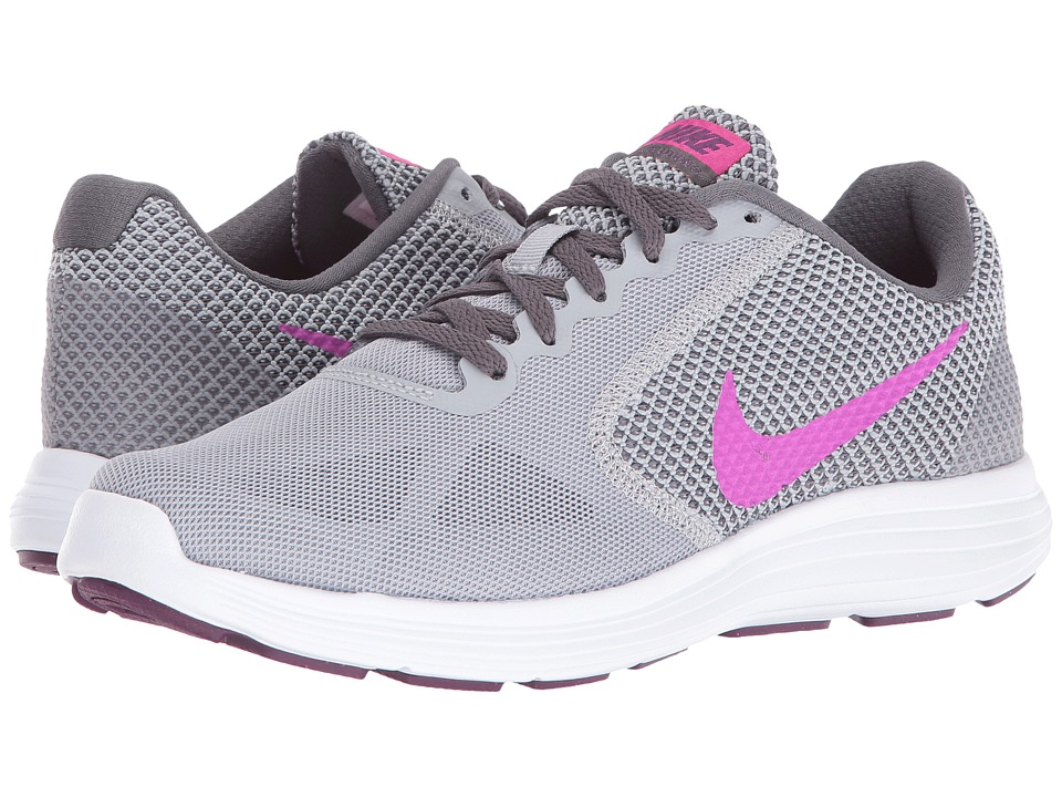 bd66e95fddec7 UPC 091205162822 product image for Nike - Revolution 3 (Wolf Grey Dark  Grey  UPC 091205162822 product image for Nike Women s Revolution 3 Running  Sneakers ...