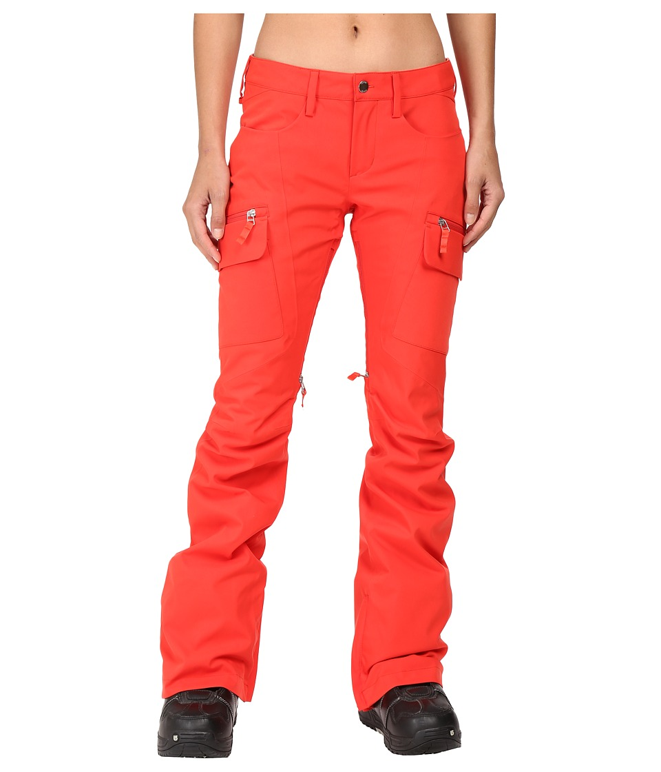 Burton - Gloria Pants (Coral) Women's Casual Pants