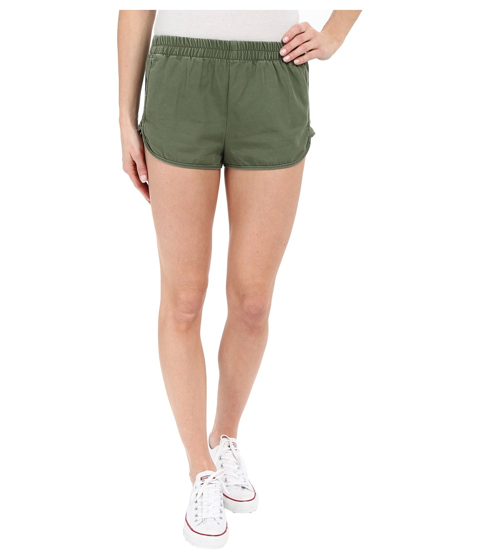 Obey Bastille Shorts Army Womens Shorts