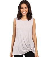 Michael Stars - Cotton Supima Slub Tank Top w/ Front Twist