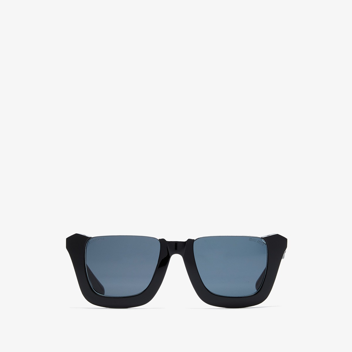 Miu Miu 0MU 52RS Black/Grey Gradient Fashion Sunglasses