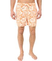 Nautica - Quick Dry Floral Print Swim Trunk