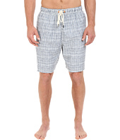 Nautica Big & Tall - Big & Tall Quick Dry Geo Print Swim Trunk