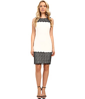 Calvin Klein - Sheath with Lace Detail