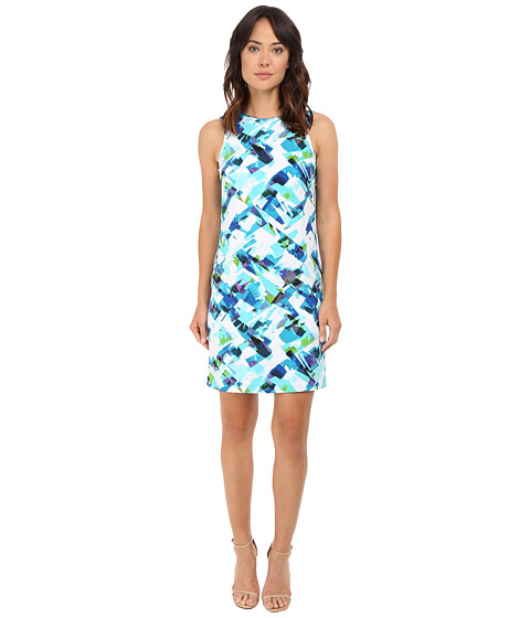 Calvin Klein Printed Mod Dress