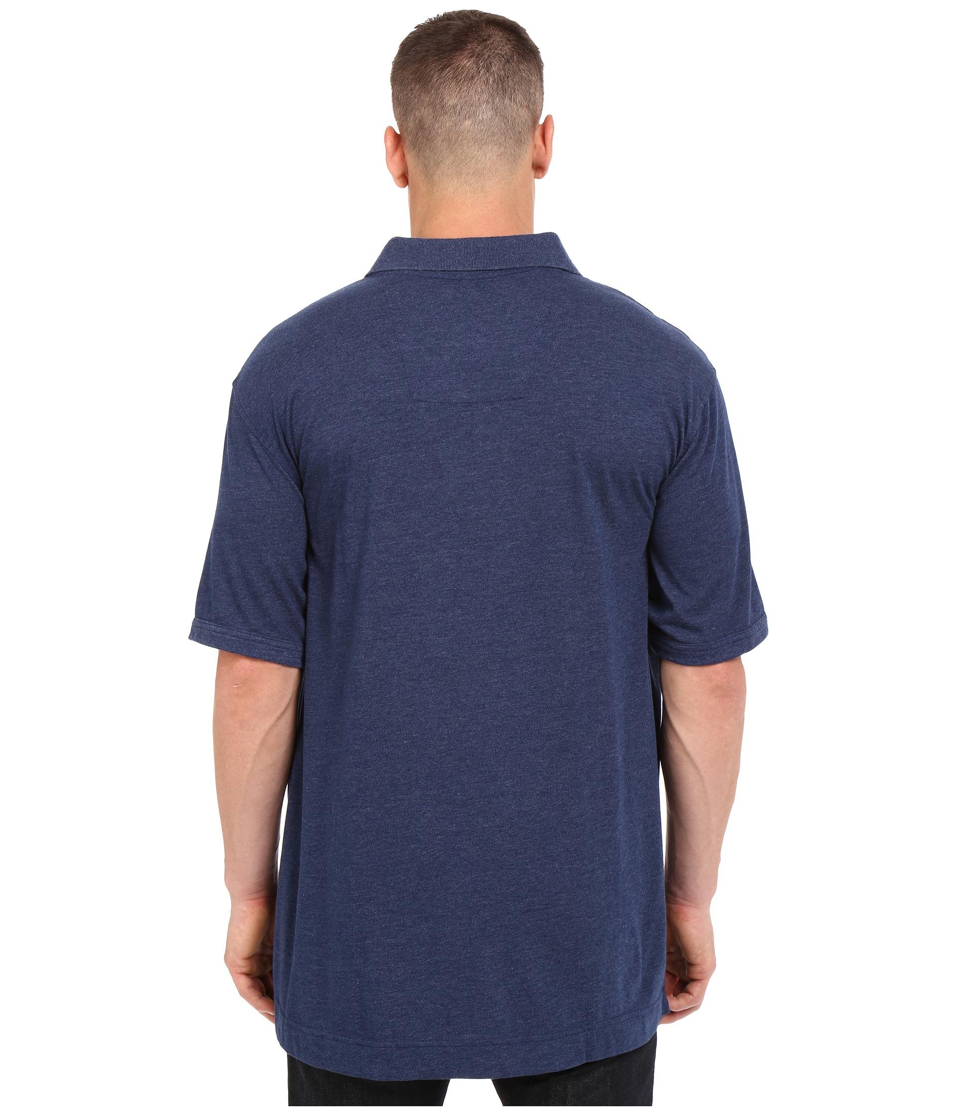 Nautica big tall big tall chest stripe polo shirt for Big size polo shirts