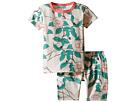 BedHead Kids - Short Sleeve Short Bottom Pajama Set (Toddler/Little Kids)