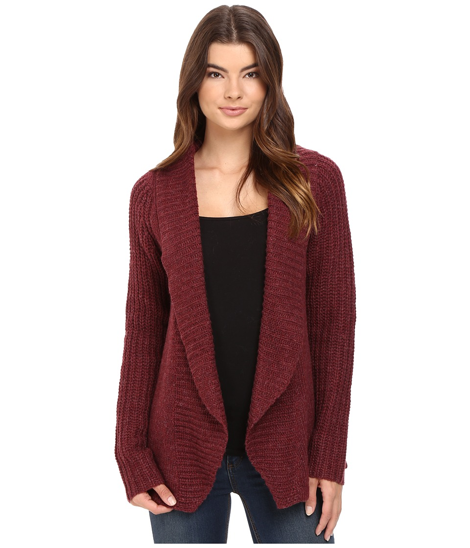Burton - Adele Cardi (Sangria Heather) Women