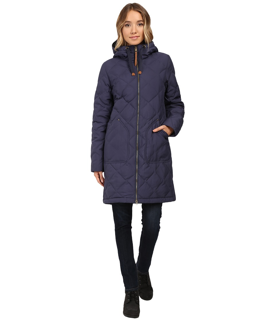Burton - Bixby Long Down Jacket (Mood Indigo) Women