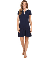 U.S. POLO ASSN. - Drop Waist Zip Close Polo Dress
