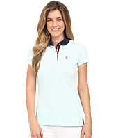 U.S. POLO ASSN. - Short Sleeve Birdseye Pique Polo Shirt