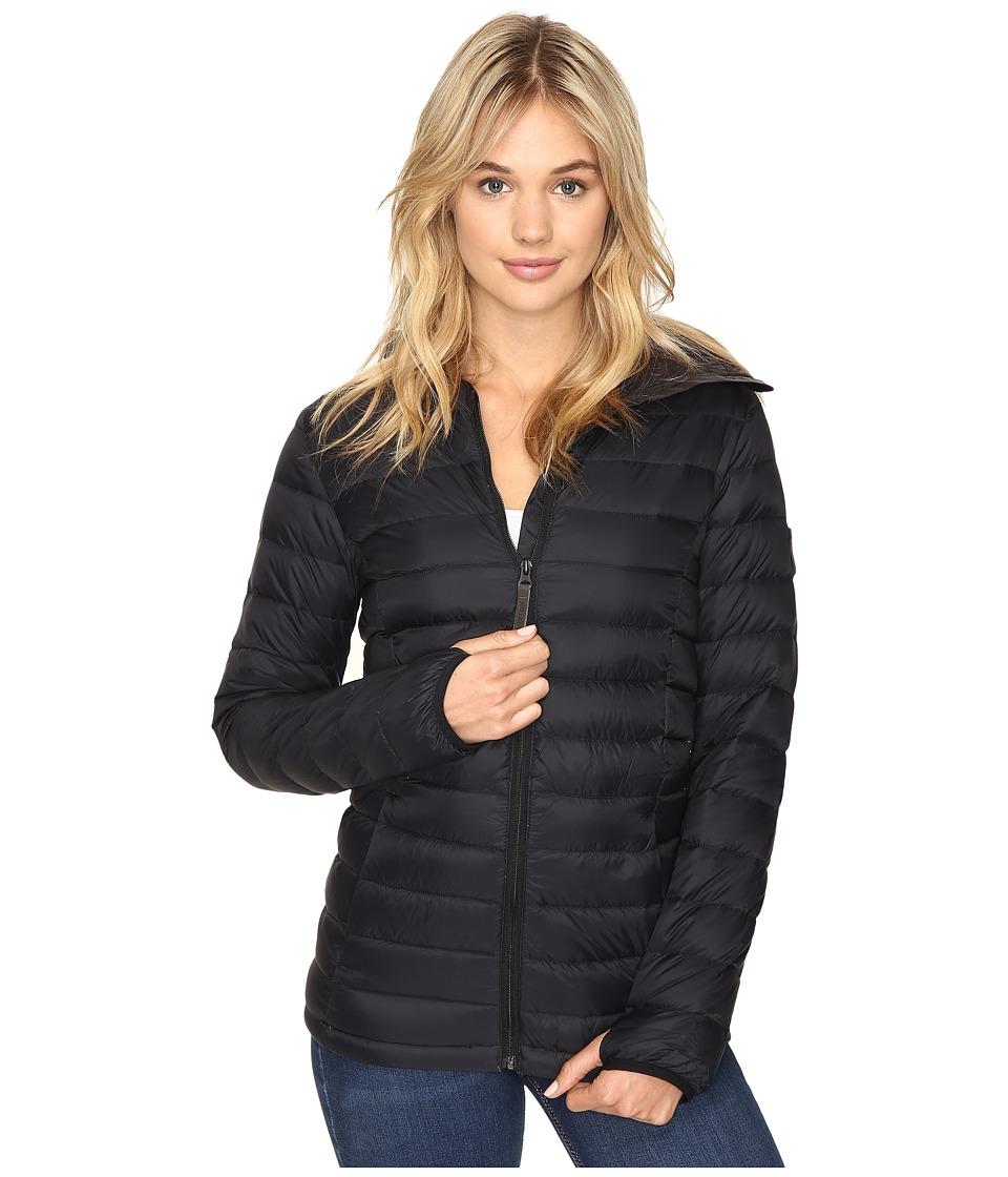 Burton Evergreen Hooded Down Insulator Jacket (True Black) Women